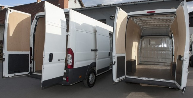 Citroen JUMPER in Peugeot BOXER L3H2